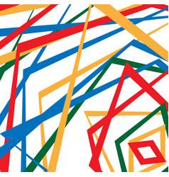 Colorful random edgy pattern random overlapping vector