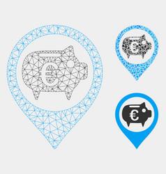 Euro bank pointer mesh carcass model and vector