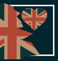 Love visit london vector