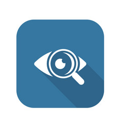 Ophthalmology and medical services icon vector