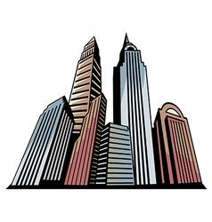 Skyscrapers Art vector