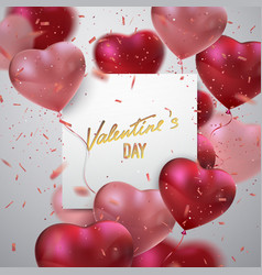 Valentines day holiday sign vector