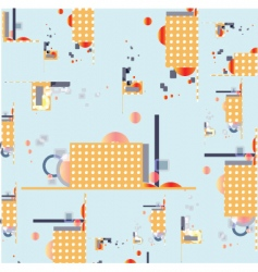 industrial pattern vector image vector image
