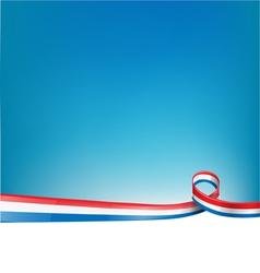 FRANCE BACKGROUND FLAG vector image vector image