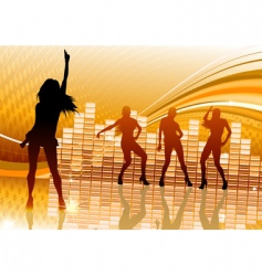 party background vector image vector image