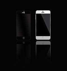 mobile phones 380 vector image