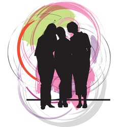 Businesswomen vector image