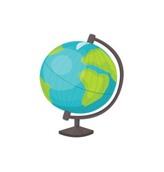 globe isolated vector image