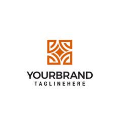 interior store logo design concept template vector image