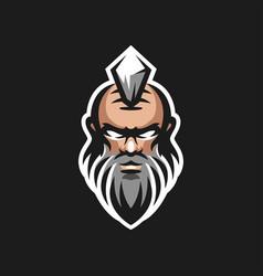 old men logo design vector image