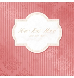 antique background vector image vector image