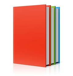 Books vector image