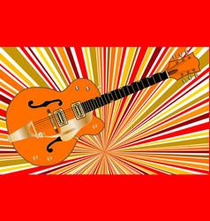 retro music vector image vector image