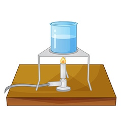Beaker and burner vector