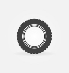 car road tire icon or design element vector image