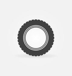 Car road tire icon or design element vector