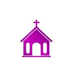 church icon vector image
