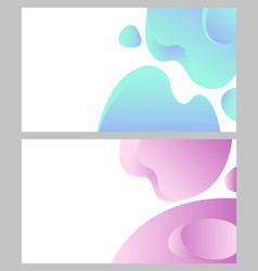 design of web page business banner abstraction vector image