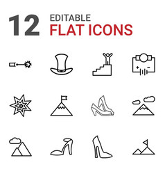 High icons vector