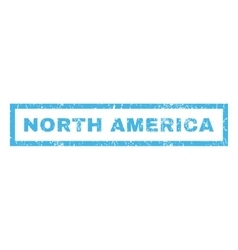 North America Rubber Stamp vector