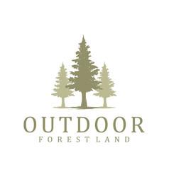 Outdoor logo mountain and adventure vector