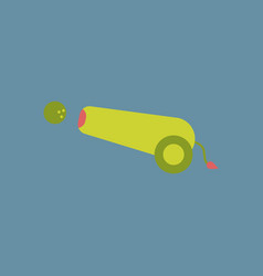 Ramadan cannon background vector