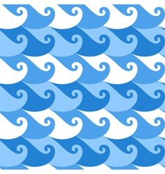 Seamless pattern Wave vector