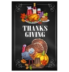 thanksgiving day greeting holiday banners vector image