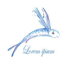 Fish Logo4 vector image vector image