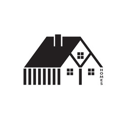 Houses for real estate business design vector image