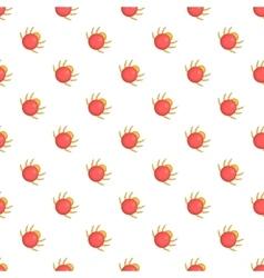 Mite pattern cartoon style vector image