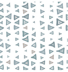 Abstract geometric metallic scribbles pattern with vector