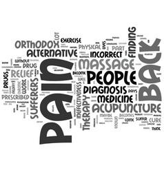 Alternative remedies ear ache text word cloud vector