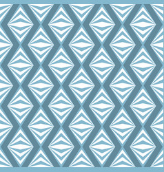 art abstract geometric light white blue pattern vector image