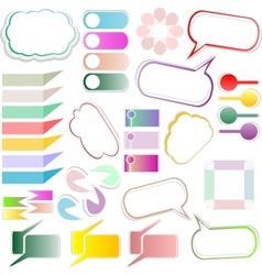 design elements text box vector image