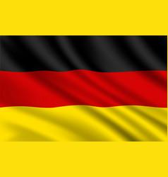 germany flag german national identity vector image