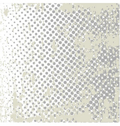 Grunge halftone style dot matrix vector