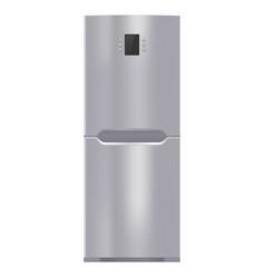 Refrigerator modern kitchen device vector