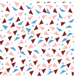 seamless background from geometric shapes vector image