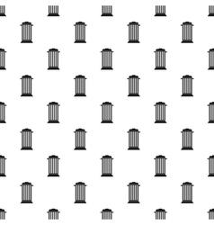Street trash pattern simple style vector