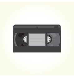 Vhs video tape cassette vector