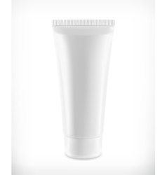 Tube of cream packaging vector image