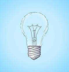 Lightbulb vector image
