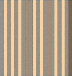 Striped gray orange brown vertical pattern vector image vector image