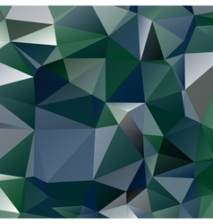 abstract stained glass in green blue and grey vector image vector image