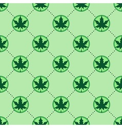 Maple Leaf pattern vector image vector image