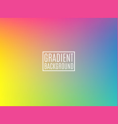 bright colorful background minimal design vector image