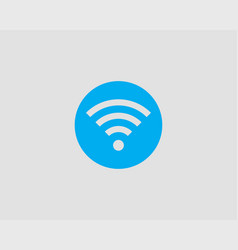 free wi fi icon connection zone wifi symbol radio vector image