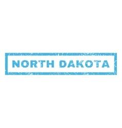 North Dakota Rubber Stamp vector