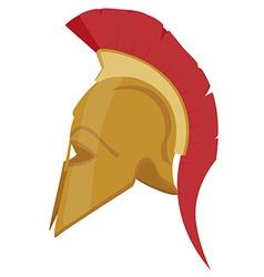 Ancient helmet vector image